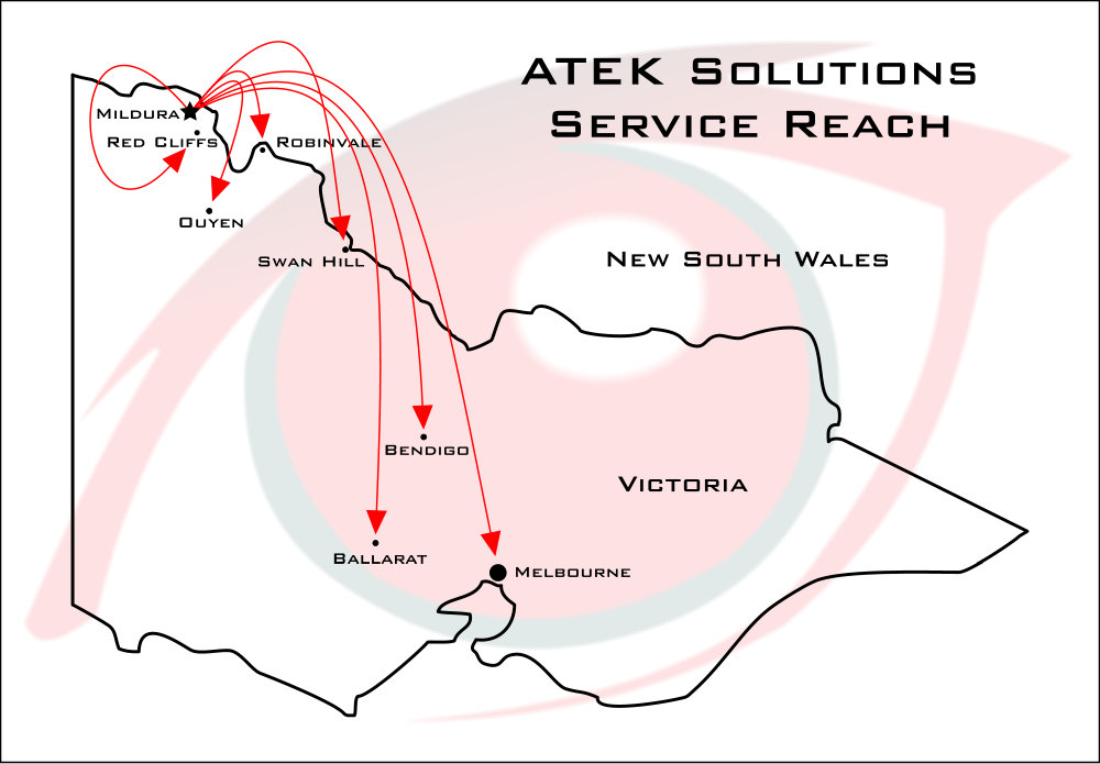 The ATEK Solutions Service Reach